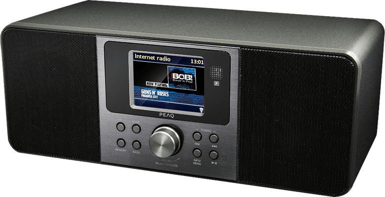 Internet Radio PDR261BT-B-1 mit DAB+, schwarz