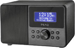 DAB+/FM Radio PDR 160-BT-B-1 mit Bluetooth