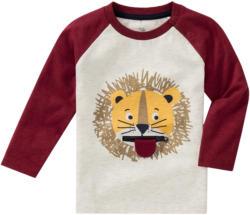 Baby Langarmshirt mit Löwen-Motiv