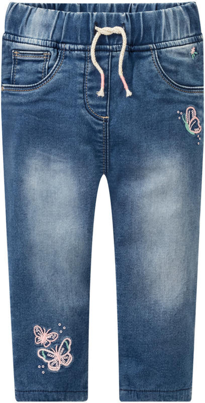 Baby Jeans mit Stickerei und Pailletten (Nur online)