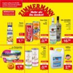 Zimmermann Sonderposten Gültig von 31.08.-05.09.2020 - bis 05.09.2020