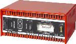 MediaMarkt ABSAAR 77911 Batterie-Ladegerät 8 Ampere Auto/Motorrad Batterie-Ladegerät, Rot/Schwarz