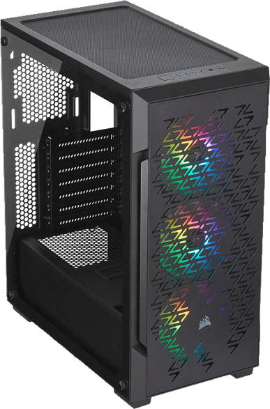 CORSAIR CUE 220T RGB Airflow PC Gehäuse, Schwarz