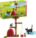 MediaMarkt SCHLEICH Spielspaß für niedliche Katzen Spielfiguren, Mehrfarbig