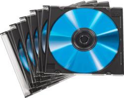 HAMA 50er-Pack CD-Leerhülle Slim