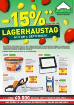 Lagerhaus KF - gültig bis 13.9.