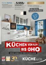 Küche von klein bis OHO!