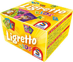 SCHMIDT SPIELE (UE) Ligretto® Kids Kartenspiel, Mehrfarbig