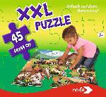 MediaMarkt NORIS XXL Puzzle Urlaub auf dem Bauernhof Puzzle, Mehrfarbig