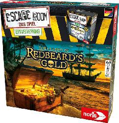 NORIS Escape Room Redbeards Gold Erwachsenenspiel, Mehrfarbig