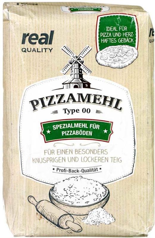 Pizzamehl jede 1-kg-Packung