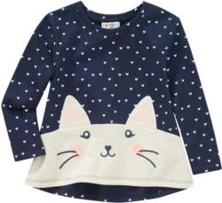 Mädchen Sweatshirt mit Katzen-Motiv (Nur online)