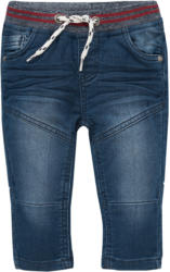 Baby Pull-on-Jeans mit Used-Waschung