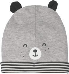 Baby Mütze mit Ohren-Applikation