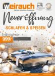 Möbel Weirauch GmbH Neueröffnung Schlafen & Speisen - bis 27.09.2020