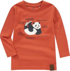 Kinder Langarmshirt mit Panda-Print