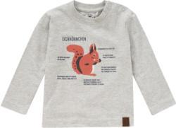 Baby Langarmshirt mit Eichhörnchen-Print (Nur online)