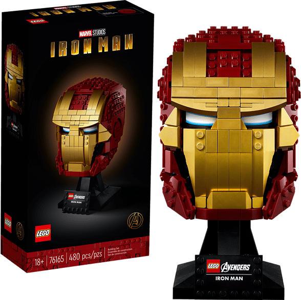 LEGO Iron Mans Helm Bausatz, Mehrfarbig