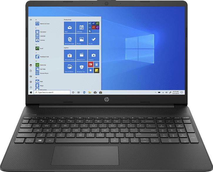 HP 15s-eq1335ng, Notebook mit 15.6 Zoll Display, Ryzen™ 3 Prozessor, 12 GB RAM, 512 GB SSD, AMD Radeon R3, Schwarz