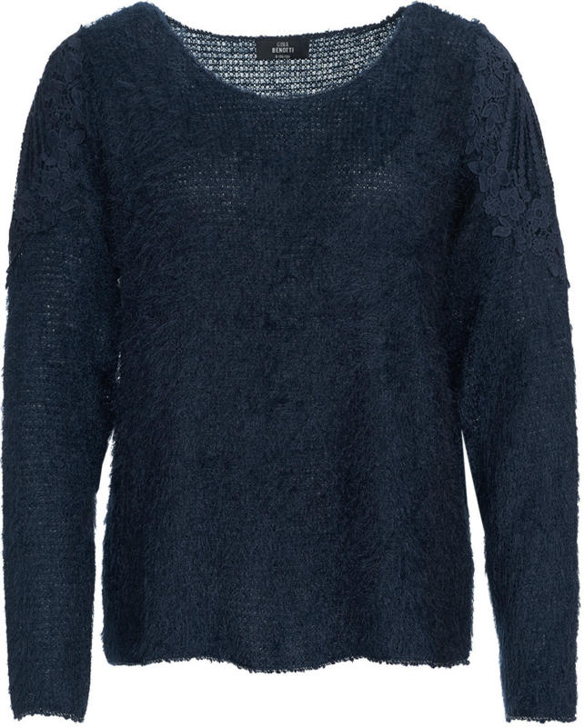 Damen Pullover mit Featheryarn (Nur online)
