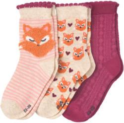 3 Paar Mädchen Socken im Set