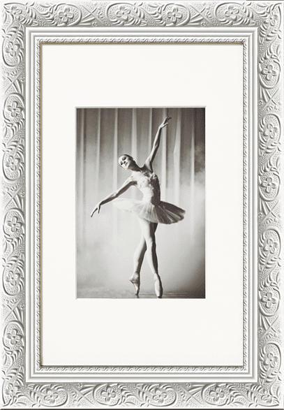 WALTHER CR520W Barock (15 x 20 cm, Weiß)