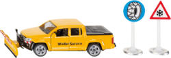 SIKU VW Amarok Winterdienst Nutzfahrzeug Miniatur, Mehrfarbig