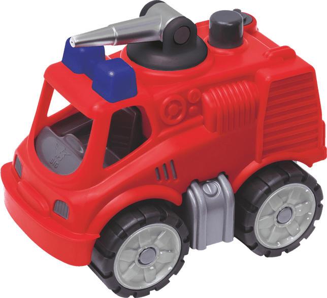BIG Power-Worker-Mini Feuerwehr BIG Power Worker, Rot