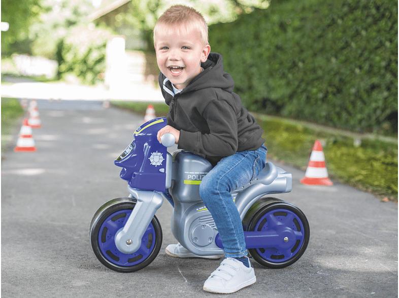 BIG Bike Polizei Bobby-Car, Blau/Grau