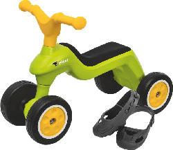BIG Rider +  Shoe Care Rider, Grün/Gelb/Schwarz