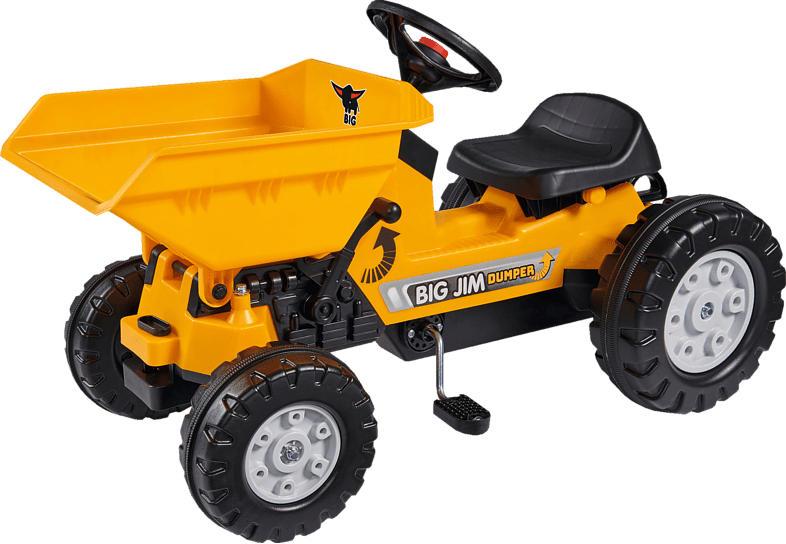 BIG JIM-DUMPER Kindertraktor, Gelb
