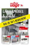 Alfred Vogt GmbH & Co. KG Gartenmöbel & Zäune bis zu 50% reduziert - bis 09.09.2020