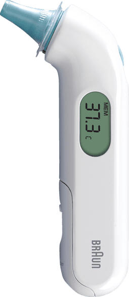 BRAUN ThermoScan® 3 Fieberthermometer (Messart: im Ohr)