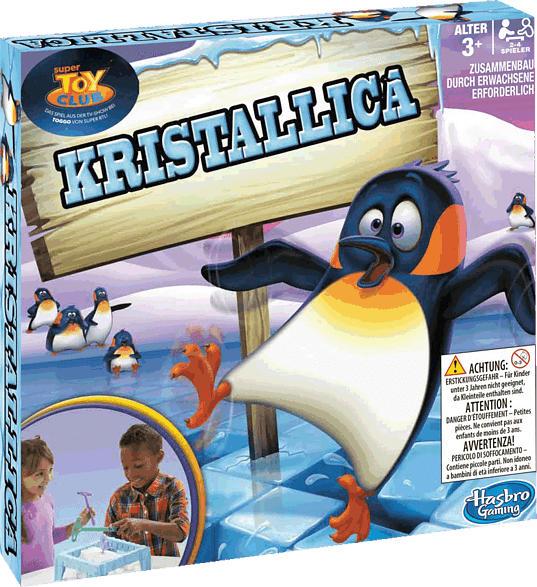 HASBRO GAMING Kristallica Gesellschaftsspiel, Mehrfarbig