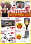 Wreesmann Neueröffnung Pirna - bis 11.09.2020
