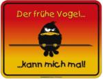 Möbelix Dekoschild Blechschild Früher Vogel
