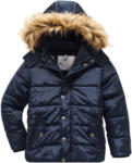 Ernsting's family Jungen Winterjacke mit Fellimitat