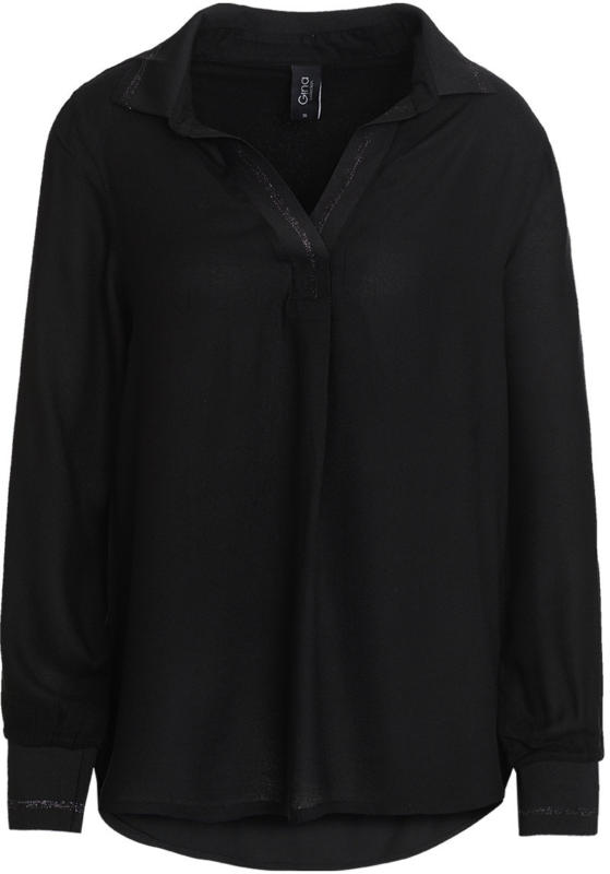 Damen Bluse mit Kentkragen (Nur online)