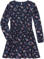 Mädchen Kleid mit floralem Allover-Motiv