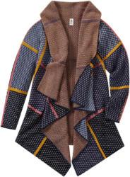Mädchen Strickjacke mit Allover-Muster