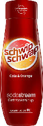 SODASTREAM 1924205490 SST SCHWIPSCHWAP O.Z. Sirup Cola-Orange