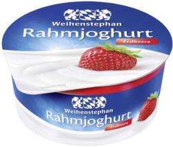 Weihenstephan Rahmjoghurt versch. Sorten, jeder 150-g-Becher