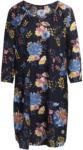 Ernsting's family Damen Kleid mit Allover-Print