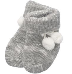 1 Paar Newborn Socken mit Pompons