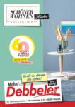Möbel Debbeler Schöner Wohnen Kollektion - bis 12.10.2020