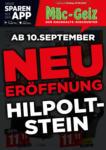 MÄC GEIZ Neueröffnung - Hilpoltstein - bis 12.09.2020