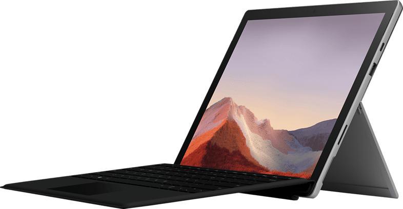 MICROSOFT Surface Pro 7, Convertible mit 12.3 Zoll Display, Core™ i5 Prozessor, 8 GB RAM, 256 GB SSD, Intel® Iris™ Plus Grafik, Platinum