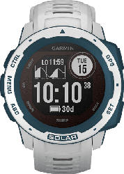GARMIN  Instinct Solar Smartwatch Faserverstärktes Polymer, Silikon, 132 - 224 mm (45 x 45 x 15.3 mm), Cloudbreak