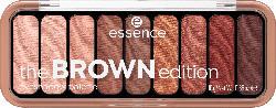 essence cosmetics Lidschattenpalette the brown edition eyeshadow palette Gorgeous Browns 30