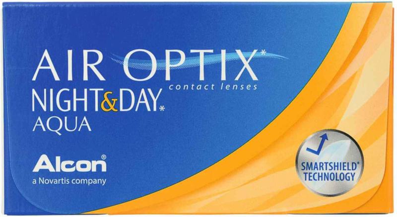 Air Optix Night and Day Aqua 6 Linsen -